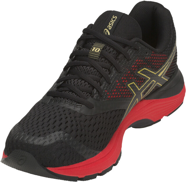 asics Gel Pulse 10 Chaussures Homme, blackrich gold